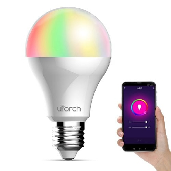 Utorch E27 Voice Control Smart WiFi Light Bulb