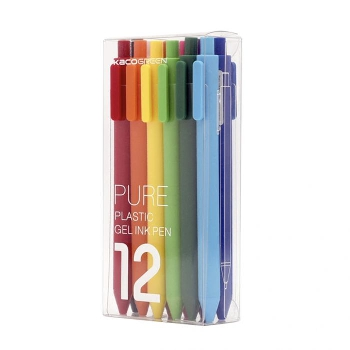 Xiaomi Youpin KACO 12-Color 0.5mm Gel Ink Pens Set