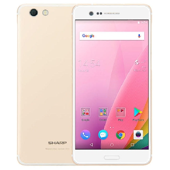 SHARP Z3 FS8009 Global Version 5.7 Inch 3100mAh 4GB 64GB Snapdragon 652 Octa Core 4G Smartphone - Gold
