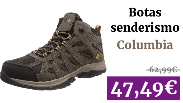 Columbia Canyon Point Mid Zapatos impermeables de senderismo para hombre