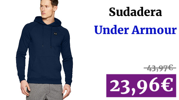 Under Armour Rival Fleece Po Hoodie Sudadera con Capucha Hombre