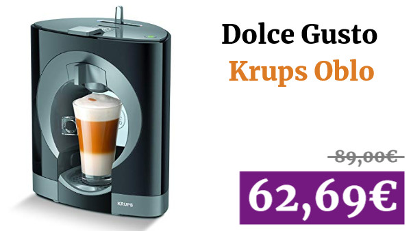 Cafetera Dolce Gusto Krups Oblo