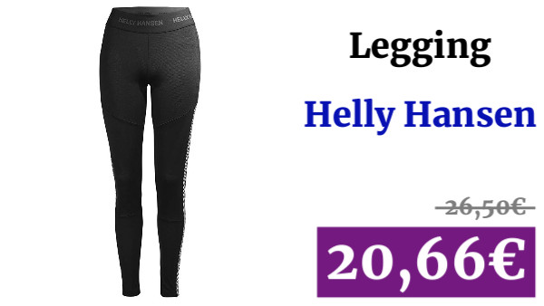 Helly Hansen W HH LIFA Basleayer Pant, Mujer