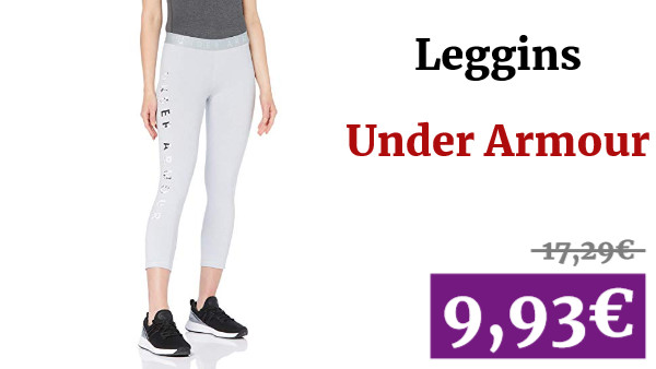 Under Armour Favorite Crop Floral Graphic Capri, Mujer