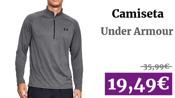 Under Armour Tech 2.0 Camiseta Media Cremallera - SS20