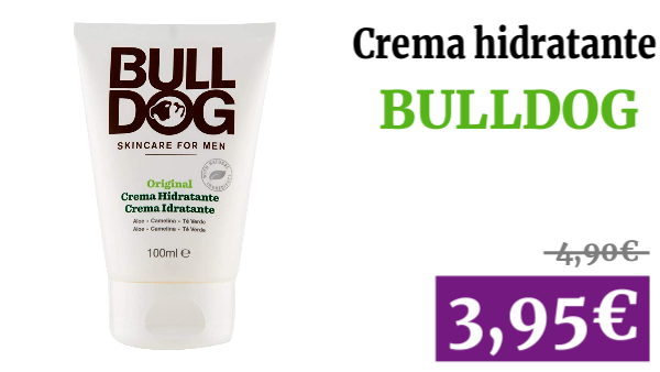 Crema Hidratante Original Bulldog 100 ml