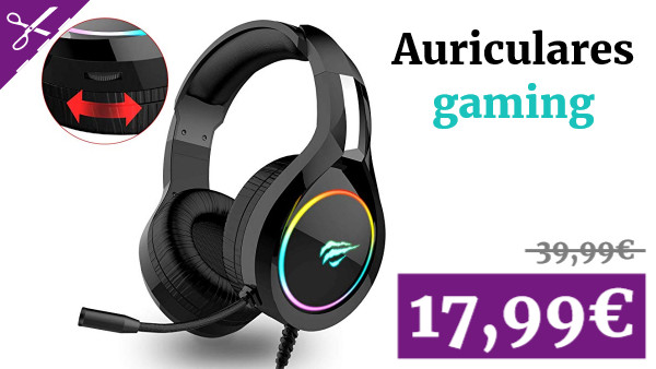 Auriculares Gaming PS4 HAVIT