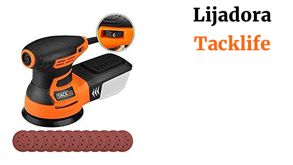 TACKLIFE Lijadora Orbital