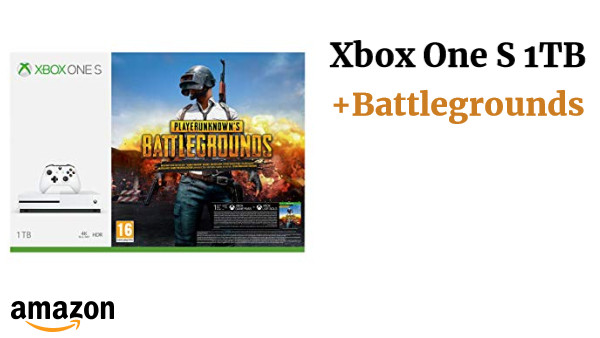 Xbox One S 1TB +Battlegrounds