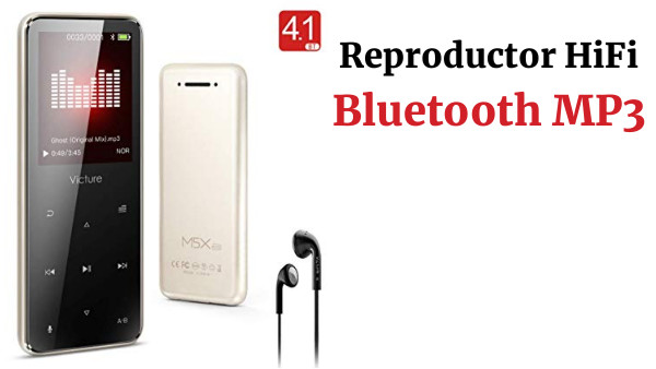 Reproductor HiFi Bluetooth MP3