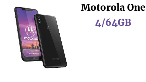 Motorola One - Smartphone Android One