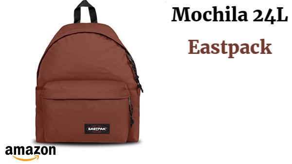 Eastpak Padded Pak'R Mochila, 40 cm, 24 L, Marrón (Bizar Brown)