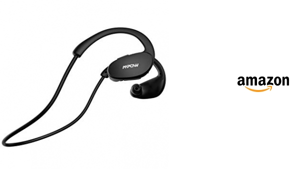 f999c2c8d84 Mpow Auriculares Bluetooth Correr, Auriculares Bluetooth 4.1 Manos Libres  para Deporte con Micrófono, Auriculares