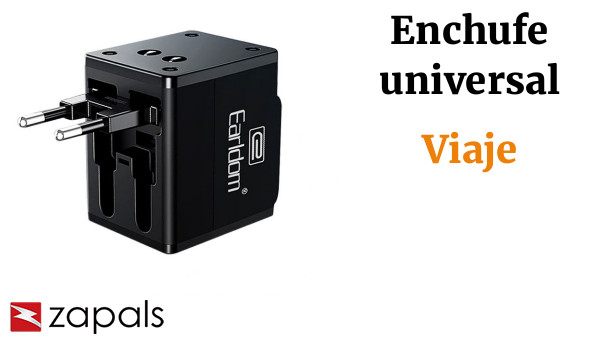 Earldom ES-LC10 Universal Travel Adapter with Dual USB Charging Ports
