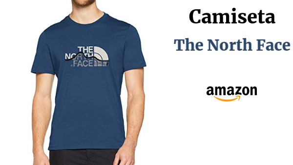Camiseta Hombre The North Face S//S Mount Line tee