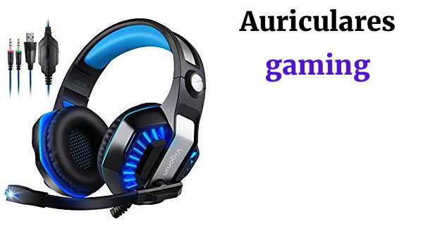 Vigorun GameK2 Auriculares Gaming