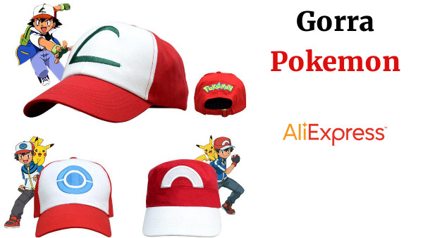 Anime Pocket Monster Cosplay disfraces sombreros Pokemon Cap Ash Ketchum