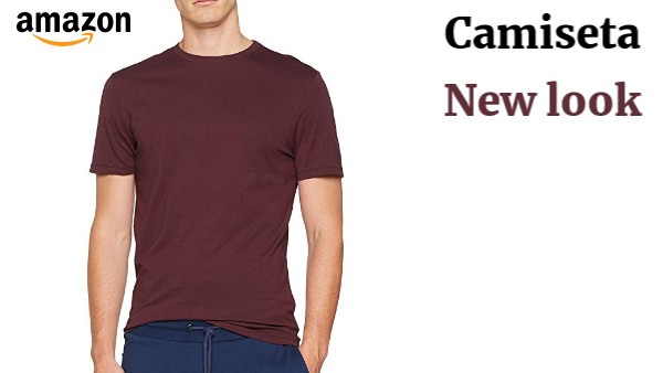 Camiseta para Hombre New Look Crew