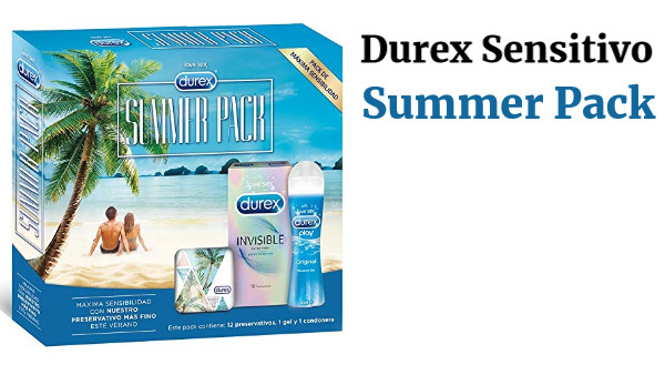 Durex Sensitivo Summer Pack