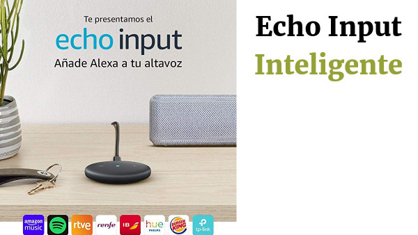 Echo Input Dispositivo Inteligente