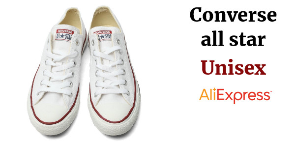 zapatillas de lona originales Converse all star unisex