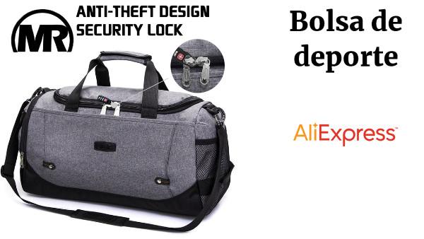 a34b105df MARKROYAL hombres bolsas de viaje bolsos de gran capacidad de viaje bolsa  Anti-robo de