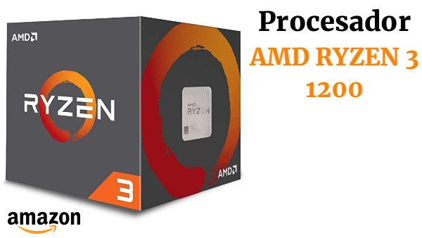 CPU AMD AM4 RYZEN 3 1200 4X3.4GHZ/10MB Box