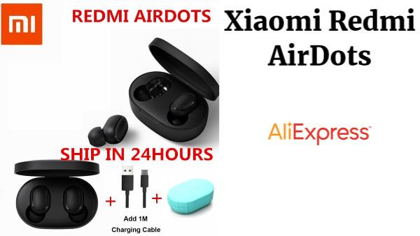 6728423b21e Xiaomi Redmi AirDots True Wireless bluetooth 5.0 Earphones DSP Active Noise  Cancellation