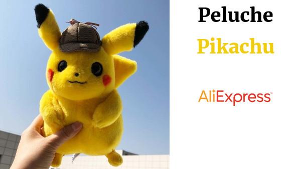 2012 Rayo Detective Oscuro Lindo Pikachu Peluche De Nuevo ZiTuOkPX