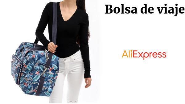 9f9fee3c0 Plegable bolsa de viaje de las mujeres de gran capacidad portátil de hombro  bolsa de dibujos