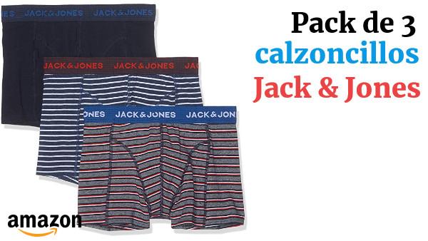 para Hombre Pack de 5 JACK /& JONES B/óxer