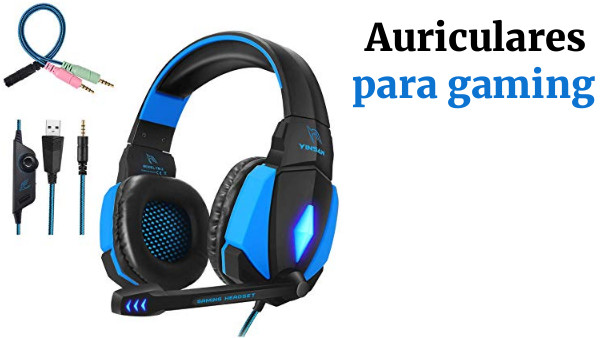 Auriculares Gaming LED