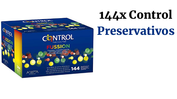 Pack 144 Preservativos Control Fussion