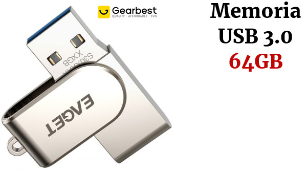 EAGET S30 USB3.0 64GB Interface All Metal U Disk