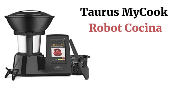 Taurus Mycook Touch Black Edition Robot Cocina