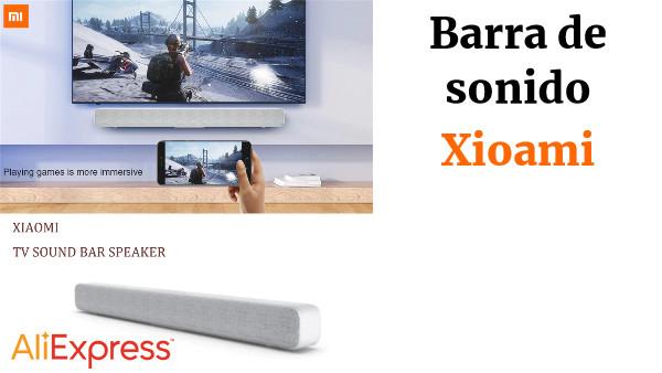 2c65ad411 Original Xiaomi Bluetooth TV Barra de sonido inalámbrico altavoz Soundbar  soporte óptico SPDIF AUX in para