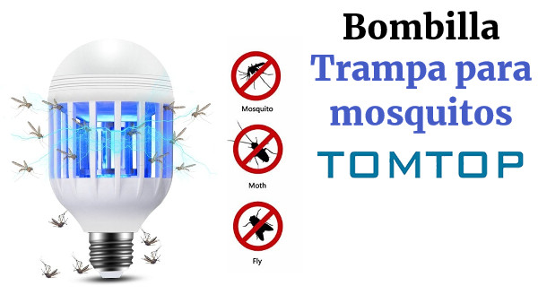 2 in 1 9W LED Bulb Mosquito lamp