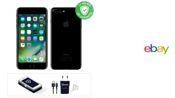 Apple iPhone 7 Plus / 128GB / Negro Brillante / Libre