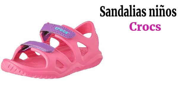 Crocs Swiftwater River Sandal K Sandalias con Punta Abierta Unisex Ni/ños