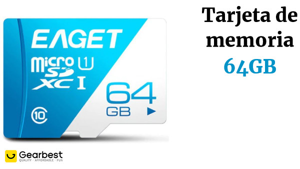 EAGET T1 High Speed UHS-I Flash TF Micro Memory Card 64GB