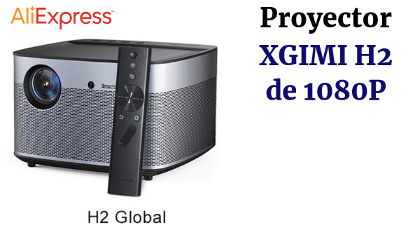 XGIMI H2 DLP proyector Full HD 1080P 1350 Ansi 3D soporte 4K Video proyector Android Wifi Teatro en Casa beamer XGIMI H1 actualización