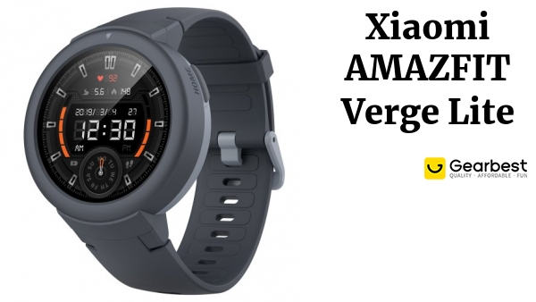 AMAZFIT Verge Lite Bluetooth Sports Smartwatch Global Version( Xiaomi Ecosystem Product )