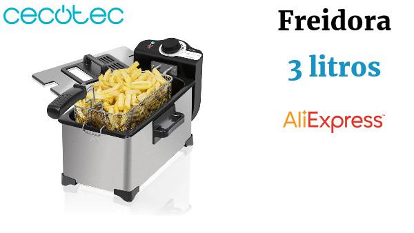 Freidora El/éctrica CleanFry Cecotec Robot Aspirador Conga Serie 1590 Active
