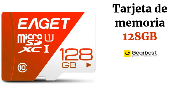 EAGET T1 High Speed ​​UHS - I Flash TF Memory Card 128GB