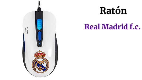 Mars Gaming Real Madrid Ratón