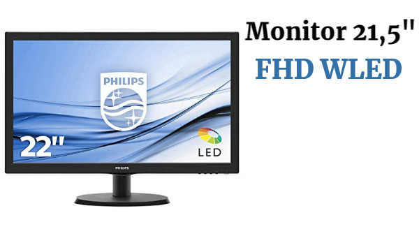 "Monitor 21,5"" FHD Philips"