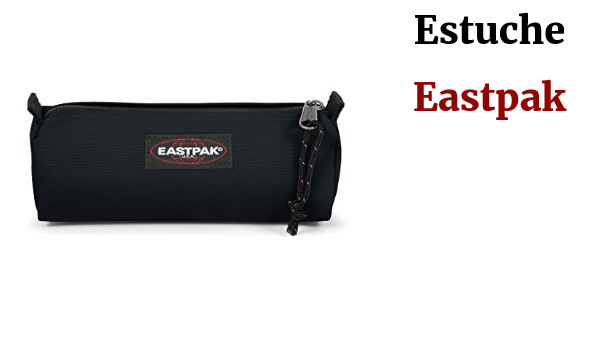 Eastpak Benchmark Single Estuche, 21 cm, Azul (Cloud Navy), nailon