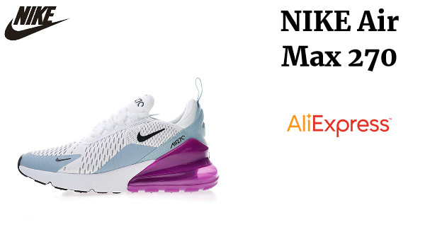 Original auténtico NIKE Air Max 270 zapatos de correr para