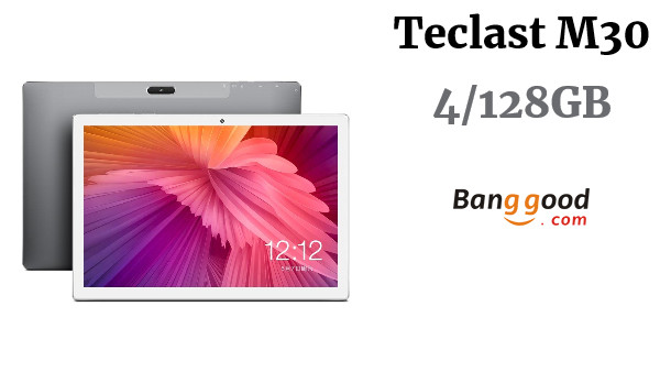 "Teclast M30 MT6797X X27 Deca Core 4GB RAM 128GB ROM Android 8.0 OS 10.1 ""Tablet PC"