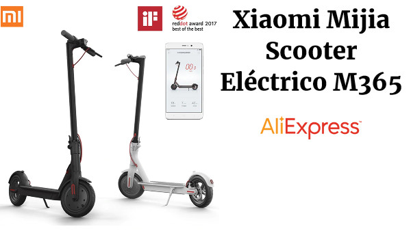 Xiaomi Mijia Scooter Eléctrico M365 Smart E-scooter Skateboard Mini Plegable Hoverboard Patinete Electrico Adulto 30km Batería